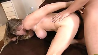 Sex angel Dyanna Lauren comes down to earth and fucks hardcore