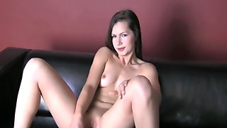 Hot cowgirl riding with wild honey