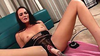 Bianca Breeze takes the sex machine
