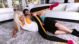 Father and associate s daughter Stretching Your Stepmom