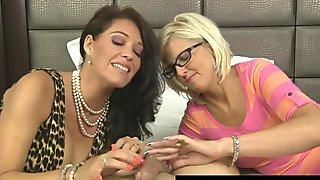 Big Tit MILF Charlee Chase Loves Sharing Her Lovers Cock!