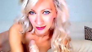 Hot Blonde Perfect Body- Stunning Student Moaning E1 HD